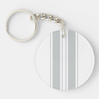 Personalizar del tecleo él gris del cambio a su llavero redondo acrílico a doble cara