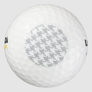 Personalizar del tecleo él gris del cambio a su pack de pelotas de golf