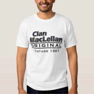 Personalizar del vintage de MacLellan del clan su Playeras