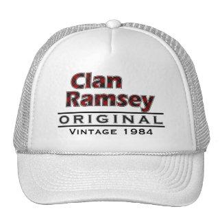 Personalizar del vintage de Ramsey del clan su Gorro
