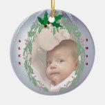 Personalizar delicioso él - 1r navidad de Babys Ornamentos De Reyes
