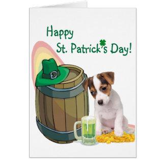 Personalizar él tarjeta del día del St Pattys del