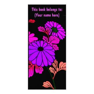 ¡Personalizar floral del ~ de las señales de la li Lonas Publicitarias