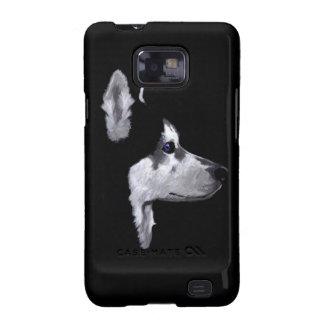 Personalizar fornido de Alaska del perfil del perr Galaxy SII Carcasas