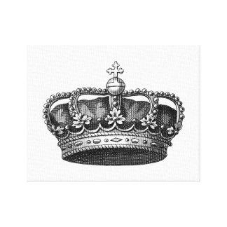 ¡Personalizar gigante de la lona de la corona del  Impresión En Lienzo Estirada