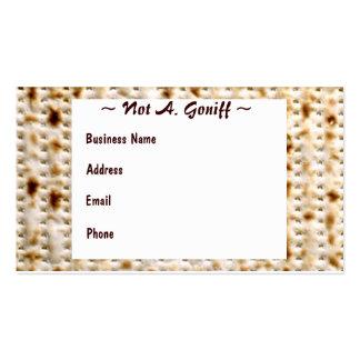 ¡Personalizar judío del ~ de la tarjeta de visita