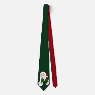 Personalizar lindo de la corbata de Papá Noel de
