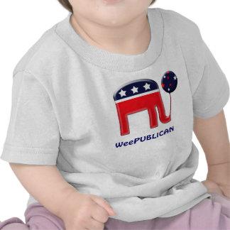 PERSONALIZAR lindo de la mascota del elefante de W Camiseta