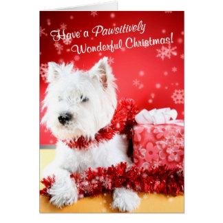 Personalizar maravilloso de los deseos del navidad tarjeton