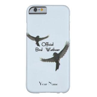 Personalizar oficial del vigilante de pájaro funda barely there iPhone 6