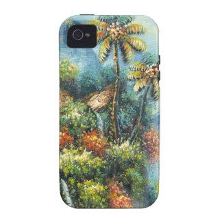 Personalizar ProductPainting de una cascada tropic Vibe iPhone 4 Funda
