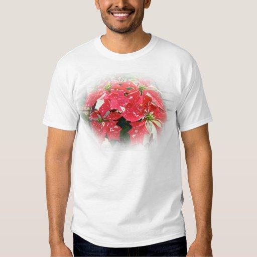 Personalizar ProductRed y Poinsettia blanco Remeras