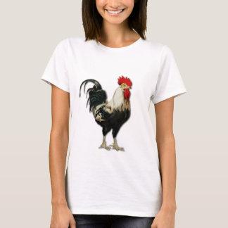 Personalizar rojo del pollo del gallo playera