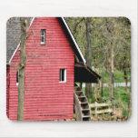 personalizar rojo viejo de Watermill Mousepad- Alfombrillas De Raton