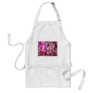 Personalizar rosado de la moda de las chispas de l delantal