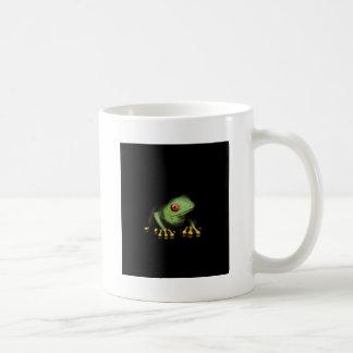 Personalizar verde de los productos de la rana arb tazas