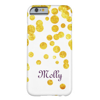Personalizd Lucky Gold Coin Barely There iPhone 6 Case