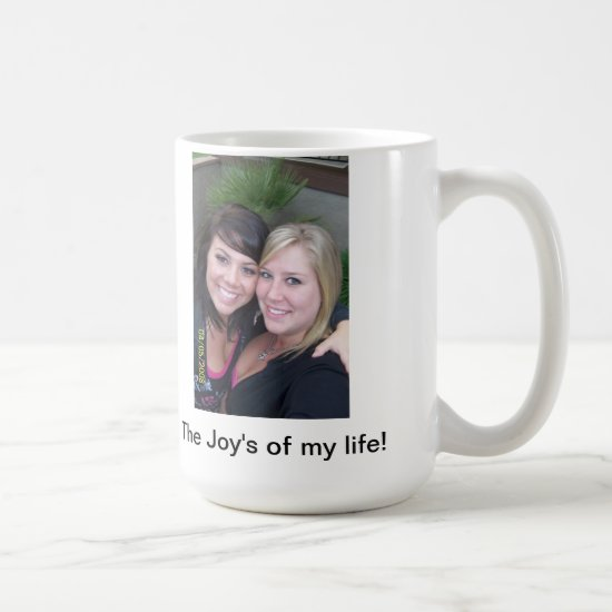 Personalize 15oz Coffee Mug