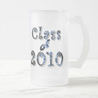 PERSONALIZE 2010 Graduations Gifts 16 Oz Frosted Glass Beer Mug