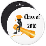 PERSONALIZE 2010 GRADUATIONS GIFTS PINBACK BUTTONS
