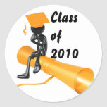 PERSONALIZE 2010 GRADUATIONS GIFTS STICKER