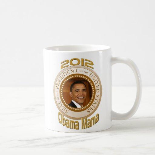 PERSONALIZE 2012 OBAMA MAMA COFFEE MUG