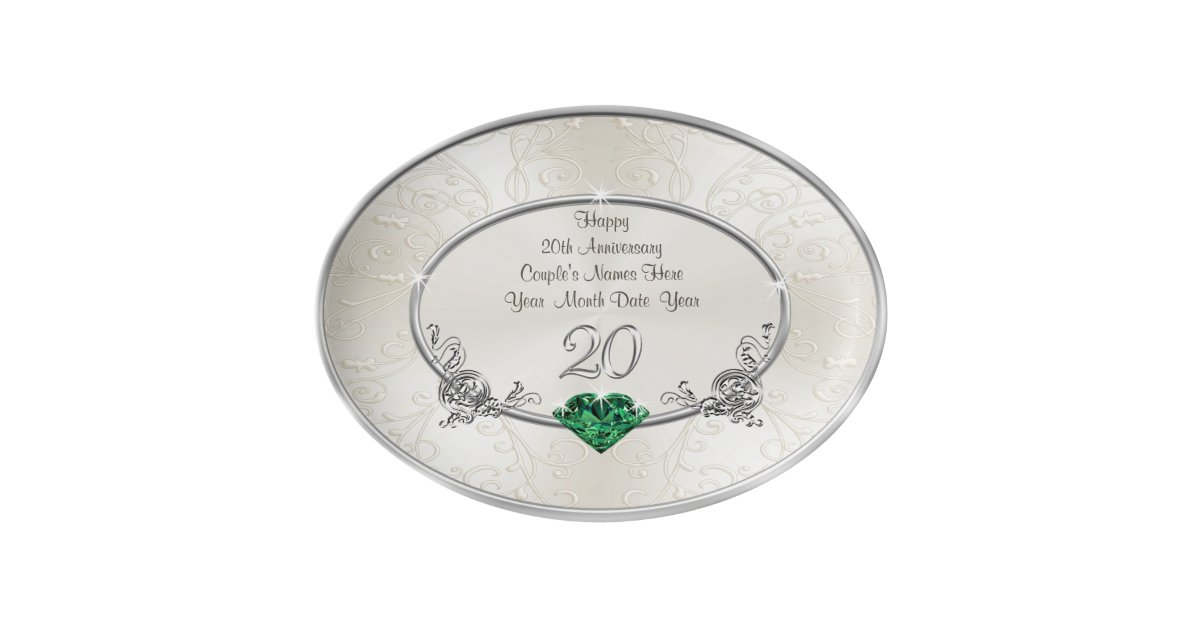 20th Wedding Anniversary Gift For Wife: Personalize 20th Wedding Anniversary Gift For Wife