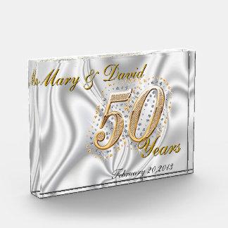 Personalize 50 Year Anniversary Award