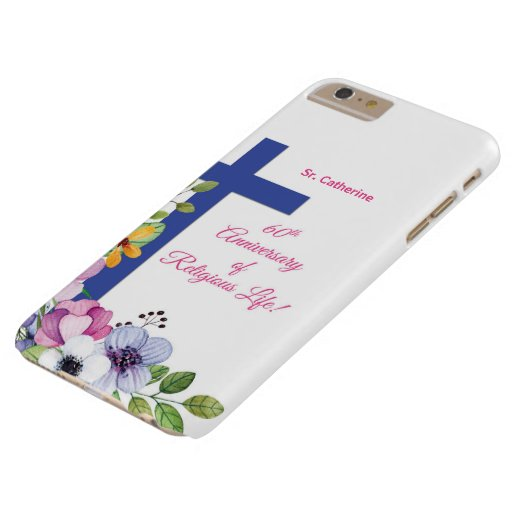 Personalize, 60th Anniversary Nun Religious Life Barely There iPhone 6 Plus Case