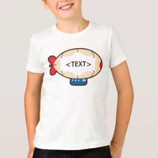 Personalize a Blimp, <TEXT> T-Shirt
