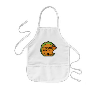 Personalize a Dinosaur, <YOUR TEXT> Apron