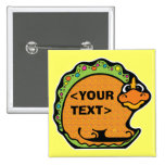 Personalize a Dinosaur, <YOUR TEXT> Buttons