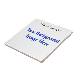 """(Personalize) Add """"Your"""" personal touch. Ceramic Tile"""