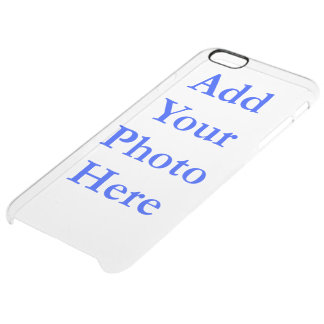 """(Personalize) Add """"Your"""" personal touch. Clear iPhone 6 Plus Case"""