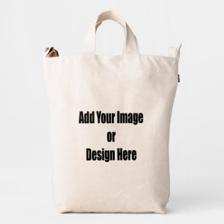 """(Personalize) Add """"Your"""" personal touch. Duck Bag"""