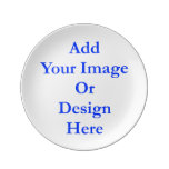 "(Personalize) Add ""Your"" personal touch. Porcelain Plate"