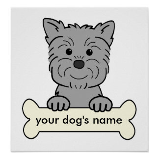 Personalize Affenpinscher Posters
