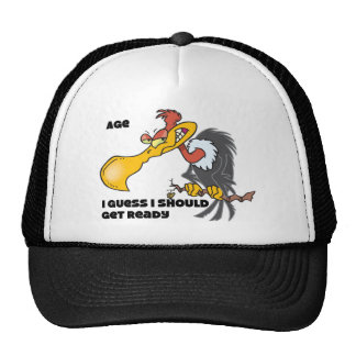 Personalize Age with Buzzard Hats