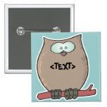 Personalize an Owl, <TEXT> Pin