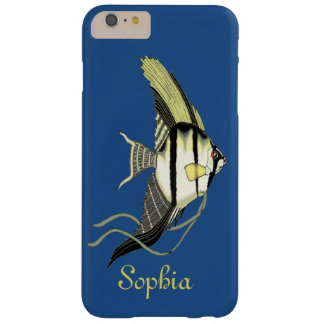 Personalize Angelfish iPhone Case Barely There iPhone 6 Plus Case