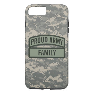 Personalize Army Family Camo iPhone 7 Plus Case