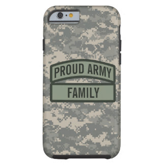 Personalize Army Family Camo Tough iPhone 6 Case