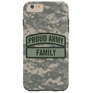 Personalize Army Family Camo Tough iPhone 6 Plus Case