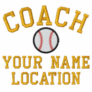 Personalize Baseball Coach Your Name Your Game! Polo