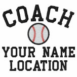 Personalize Baseball Coach Your Name Your Game! Track Jacket