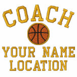 Personalize Basketball Coach Your Name Your Game! Polos