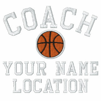 Personalize Basketball Coach Your Name Your Game! Polo