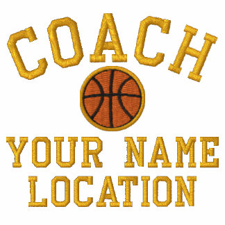 Personalize Basketball Coach Your Name Your Game! Polo Shirt
