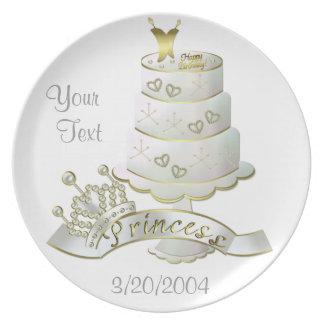 Personalize Birthday Keepsake Plate