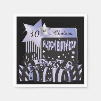 Personalize Birthday Party Napkins